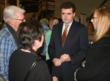 Congressman Mike Fitzpatrick talking with guests at the 2013 Locavore ~ Buy Local Event